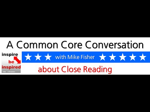 A Common Core Conversation about close reading - YouTube