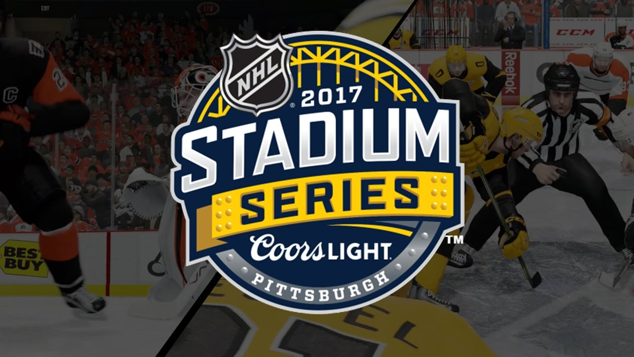 4624a77cf NHL 17 | Philadelphia Flyers & Pittsburgh Penguins Stadium Series Jerseys -  YouTube