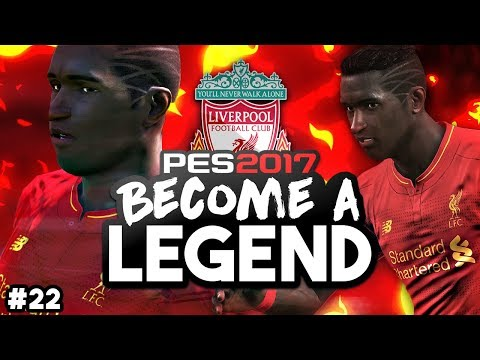 "BECOME A LEGEND! #22 |PES 2017! | ""MOUTINHO STRUGGLING WITH LIFE AT ANFIELD?!"""