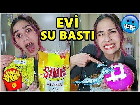 TİKTOK HAYAT HİLELERİNİ DENEDİM !! (EVİ SU BASTI)