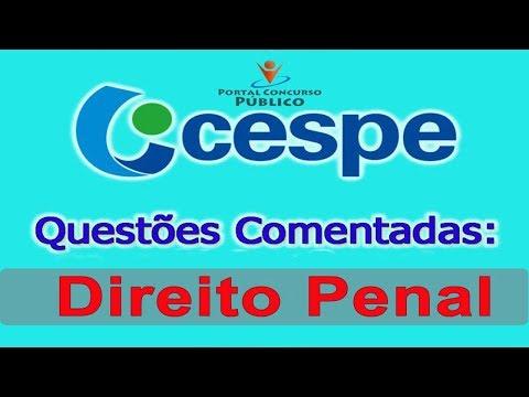 Questões CESPE - Direito Penal