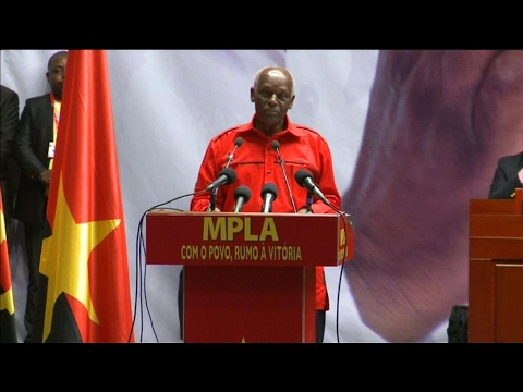 Angola's Dos Santos says he will not seek re-election after 37 years in power