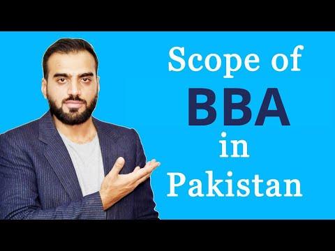 BBA/MBA Scope In Pakistan