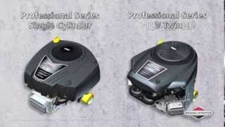 Professional Series Single Cylinder and V-Twin Engines