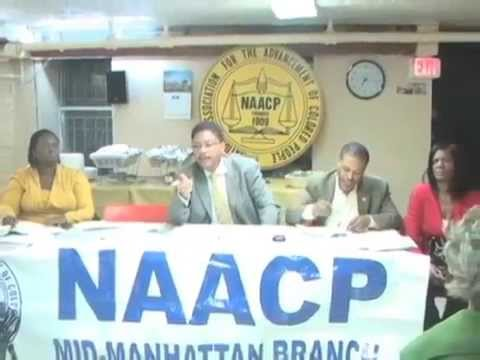 NAACP-MMB Officer Elections October 2010