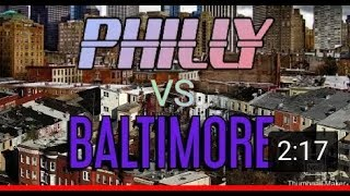 Philly vs Baltimore full diss track!????