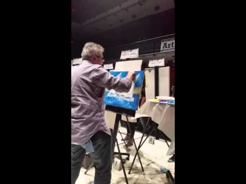Art Battle Canada at The Living Arts Centre, Mississauga, Ontario