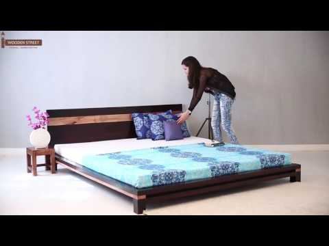 Beds : Explore Vast Wooden Street Beds Collection Online India