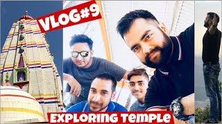 Exploring & Vlogging in Temple | Jai Maa Chaturbhuja |Joginder Nagar Beauty|Himachali Culture|#VLOG9