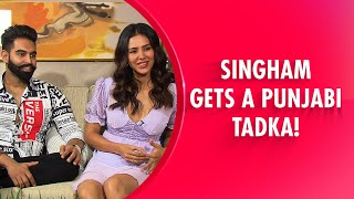 Funniest Interview Of Parmish Verma & Sonam Bajwa | The Punjabi Singham Jodi Spills All Secrets