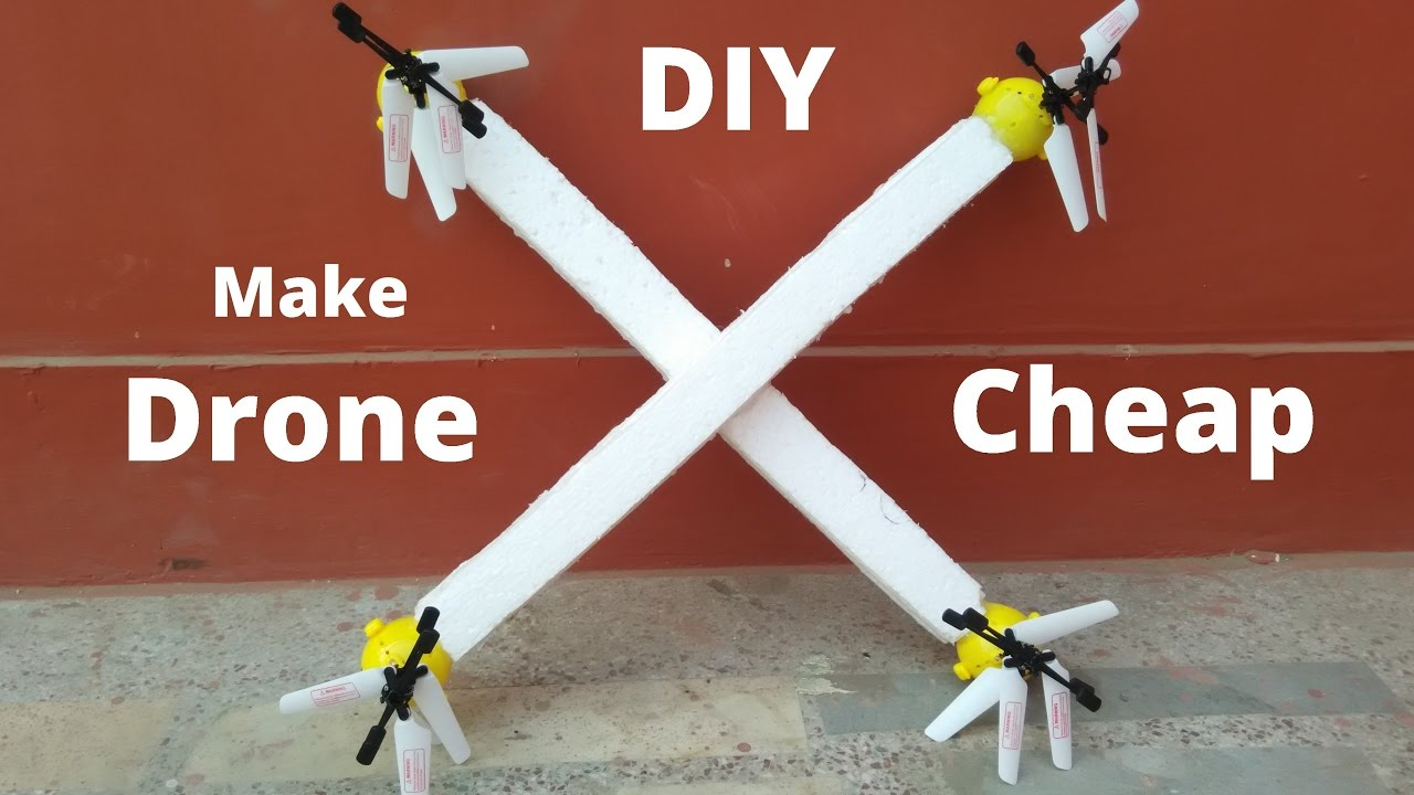 How To Make A Drone At Home