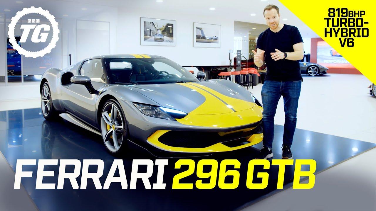 Download Ferrari 296 GTB: small engine, massive power! Is this 820bhp V6 hybrid a mini LaFerrari? | Top Gear
