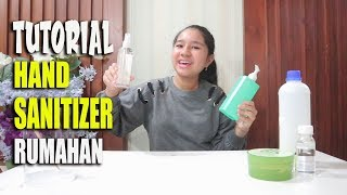 #stayhome #withme #dirumahaja tutorial hand sanitizer rumahan, murah dan mudah!! (yuk buat sendiri) bahan yang di perlukan : 1. alkohol 96% 833...