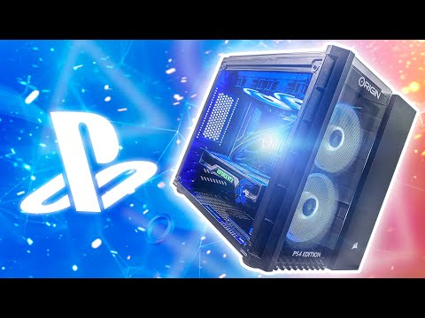 This PC has a BUILT IN PS4!