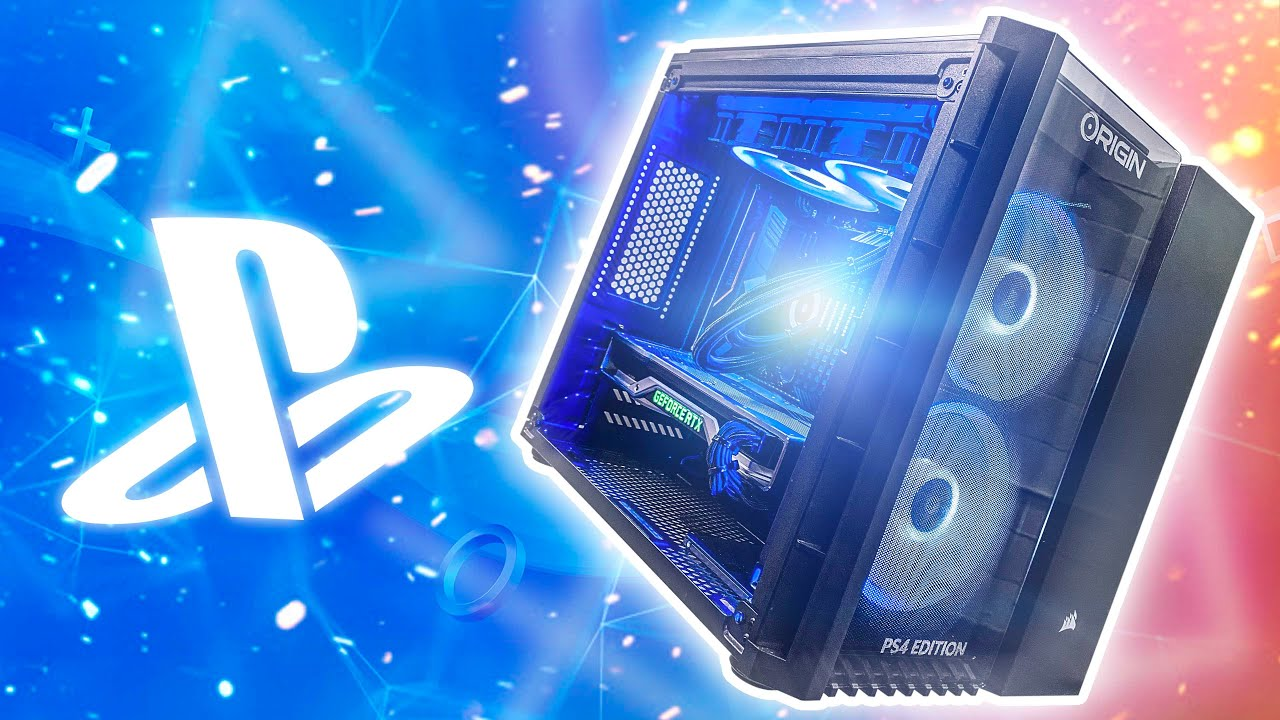 Download This PC has a BUILT IN PS4!