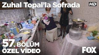 Mutfakta görünmez kaza! Zuhal Topal'la Sofrada 57. Bölüm