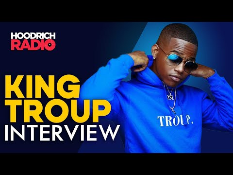 DJ Scream - King Troup Talks New Single Stain ft Kap G, His Father, Unity & More