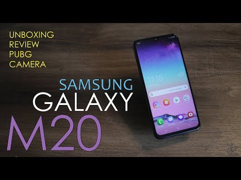 Samsung Galaxy M20 Unboxing, full review - with M Series Samsung says I'M back Price from Rs. 10,990