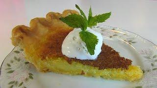 Betty's Southern Cornmeal Pie