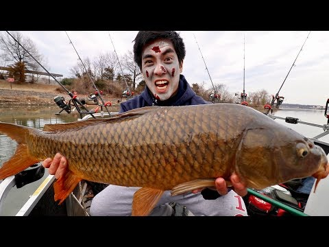 ZOMBIE CARP FISHING!!!