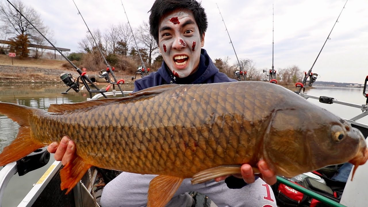 ff1bb1b4700 ZOMBIE CARP FISHING!!! - YouTube