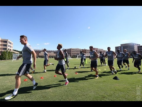MANCHESTER UNITED : TRAINING DAY 14  AHEAD OF BARCELONA CLASH