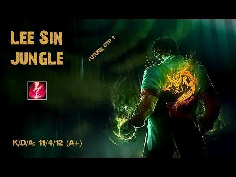 Dragon Fist Lee Sin Jungle Gameplay