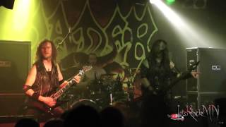 Vader performing Reborn in Flames @ Queens Hall, Nuneaton, 18/03/2015