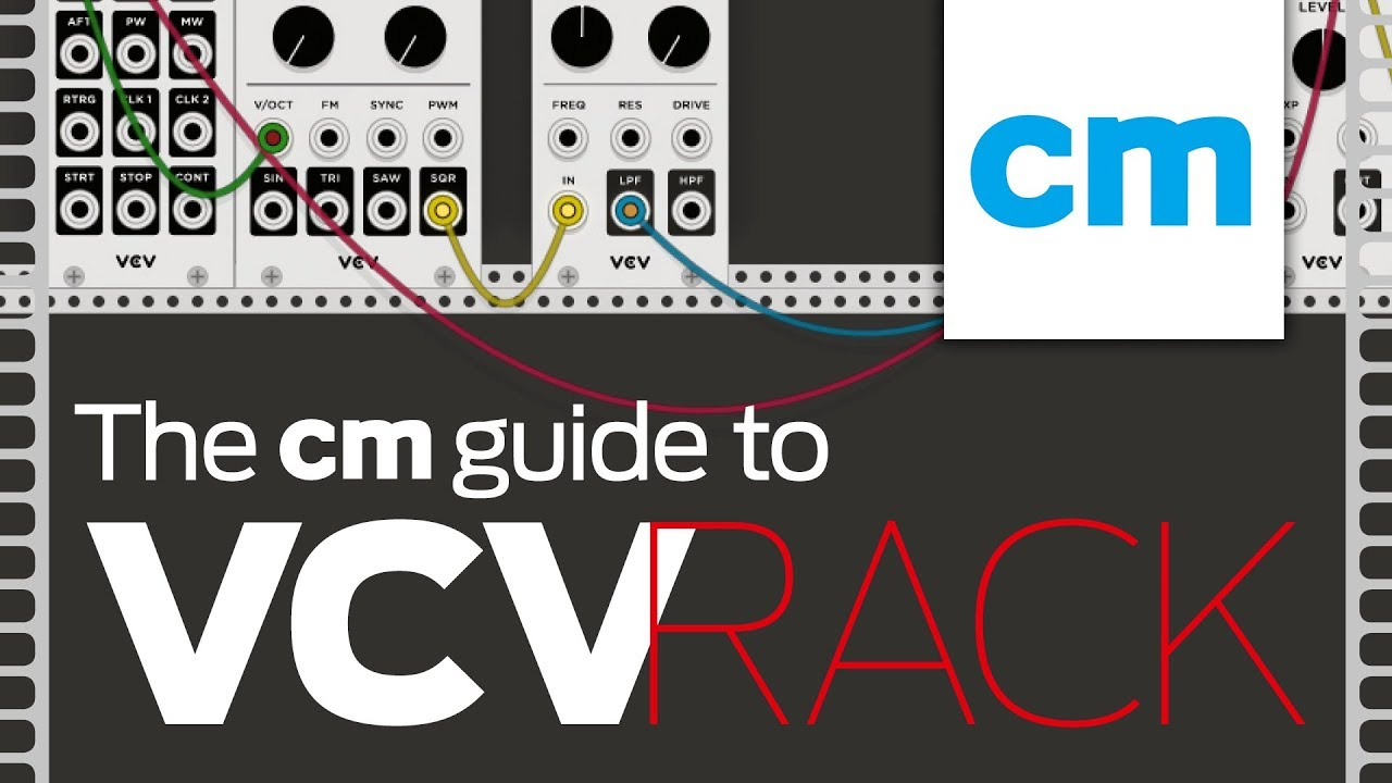 creating a basic synth voice vcv rack tutorial free modular synth youtube. Black Bedroom Furniture Sets. Home Design Ideas