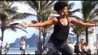 Cardio Workout by Afrovibe™at Ipanema Beach, Brazil