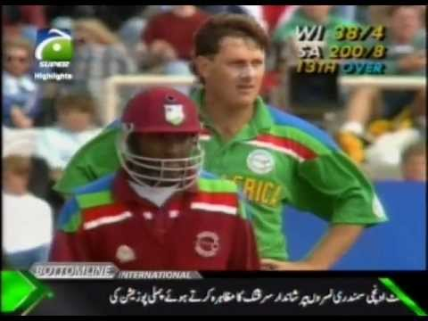 ** Rare ** South Africa vs West Indies World Cup 1992 HQ Incomplete Highlights