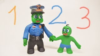 Green Babies Superheroes Learn Good Things Compilation Play Doh Animations For Kids