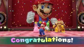 Mario vs Peach vs Yoshi vs Bowser - Sound Stage (Remix) - Rhythm Mini Games - Super Mario Party