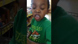 Just a little video us at the store called Aldi