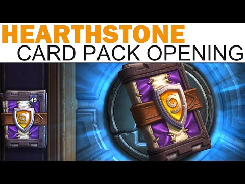 Hearthstone - The Grand Tournament Card Pack Opening #1 - 50 Packs (IT BEGINS!)