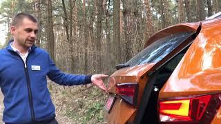 Перевіряємо жорсткість кузова в нових SEAT ATECA