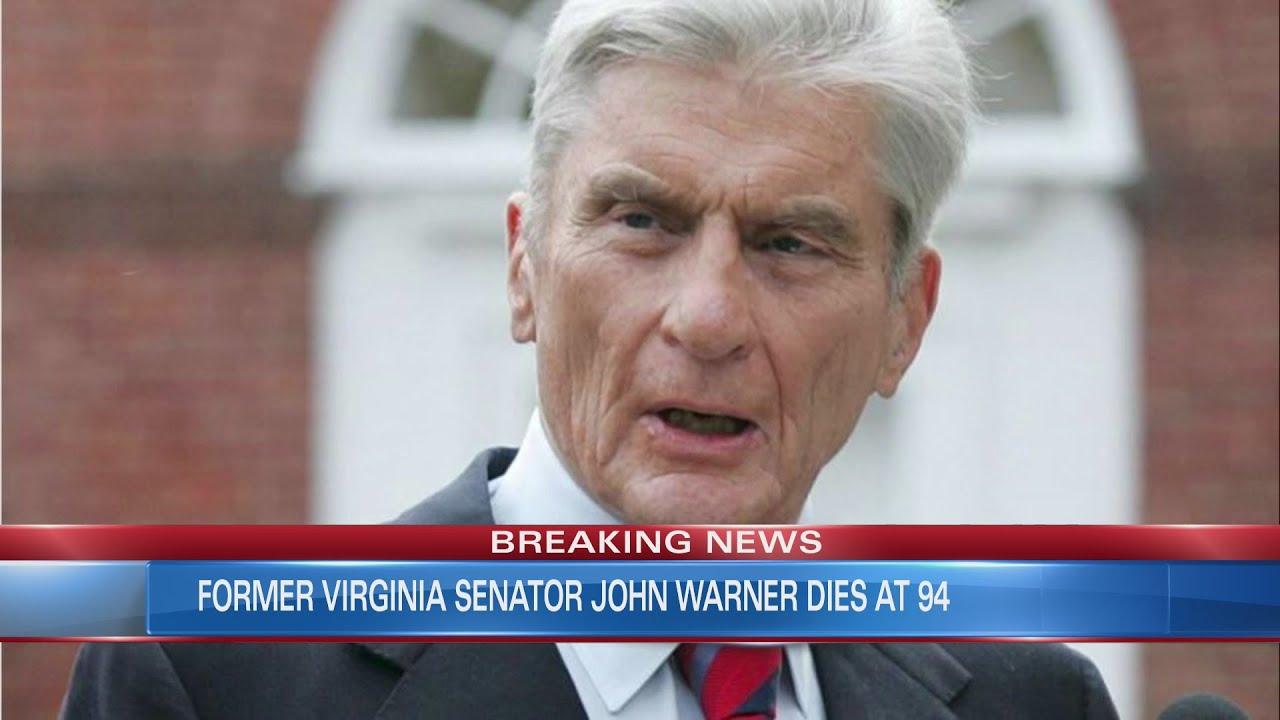 John Warner, longtime US senator from Virginia, dies at 94 ...