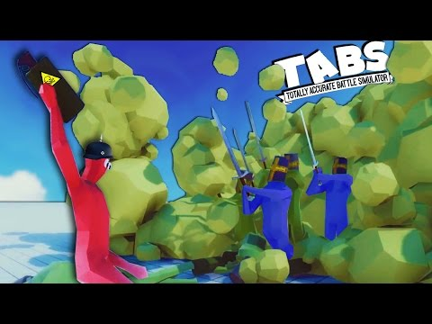 TABS WW1 Mustard GAS - Totally Accurate Battle Simulator New World War 1 Faction ( TABS WW1)
