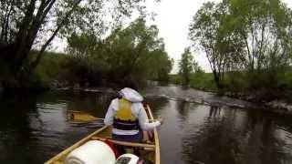 Kwisa w kanu (2013) 1/2 - przed powodzią