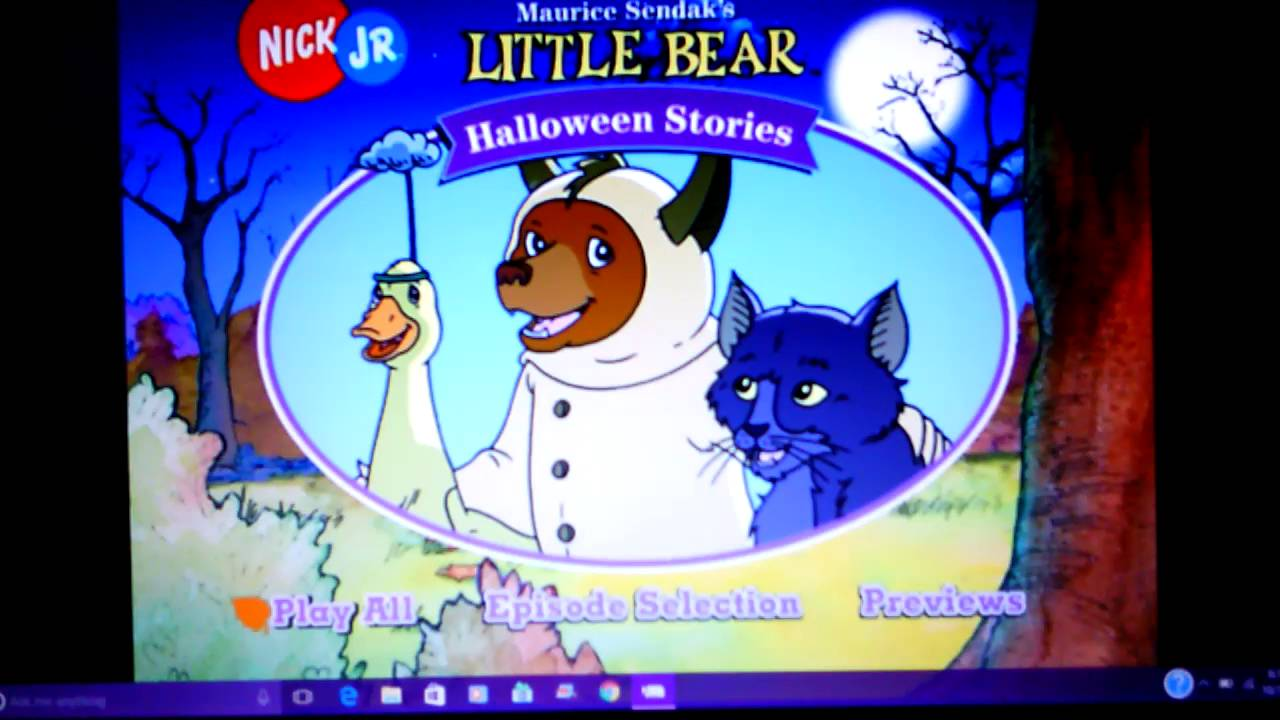 nick jr. little bear halloween stories - youtube