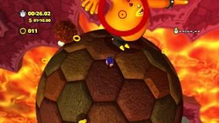 Sonic Lost World - Wii U - Lava Mountain Zone 1