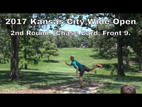 2017 Kansas City Wide Open. Chase Card, 2nd Round (Front 9)