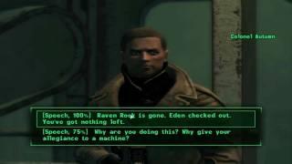 Fallout 3 Best ending
