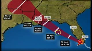 Tropical Storm Gordon Could Become Hurricane Before Hitting Gulf Coast