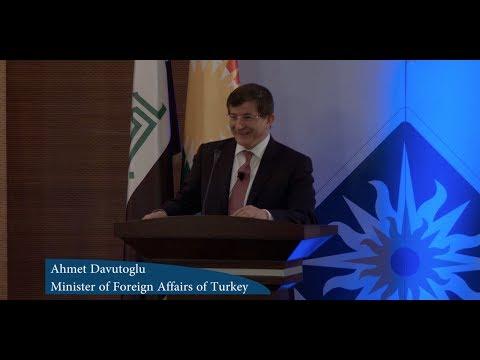 Sulaimani Forum 2014: Ahmet Davutoğlu