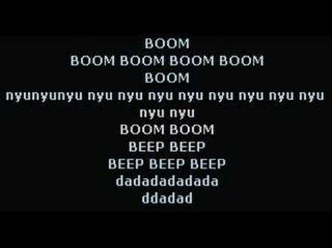 Darude - Sandstorm (lol) lyrics