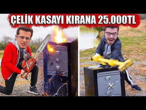 Çelik Kasayı Kıran 25.000TL KAZANIR!