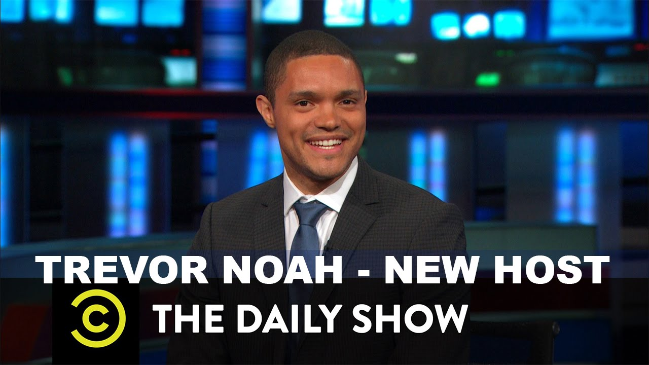 Trevor Noah To Replace Jon Stewart On The Daily Show - YouTube  Trevor Noah To ...