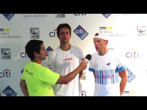 Marcelo Melo and Lukasz Kubot Interview - 2017 Citi Open Qua