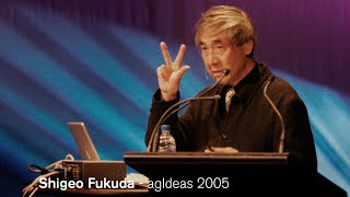 Shigeo Fukuda - A legend, with a sense of humour - agIdeas 2005